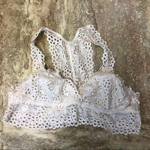 ALTAR'D STATE white lace bralette m